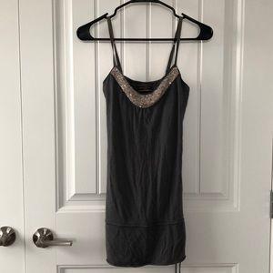 Abercrombie & Fitch (Ezra Fitch) gray tunic size M